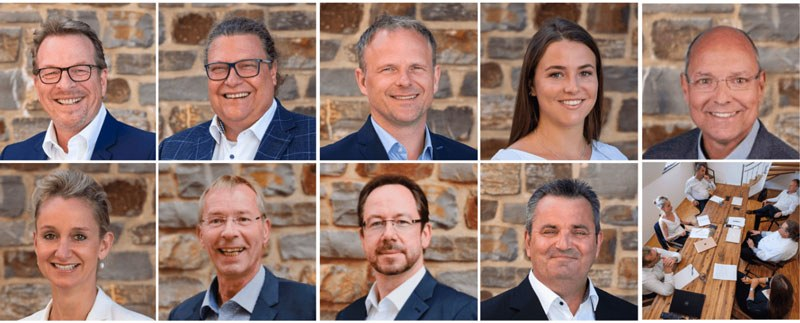 Unser Team Portraits