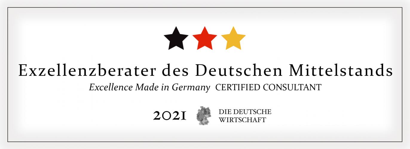 Fachforum der Deutschen Wirtschaft: BOLLMANN EXECUTIVES auch 2021 Exzellenzberater